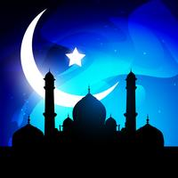 stilvoller Ramadan-Kareem-Vektor vektor