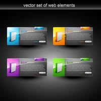 Anzeige von Web-Produkten vektor