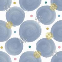 sömlös blå färg prick form med färgglada glitter prick mönster bakgrund