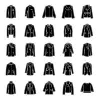 Mode und Winterkleidung vektor