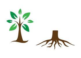 träd ikon illustration vektor uppsättning