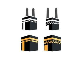 Kabah Icon Design Vorlage Vektor-Illustration vektor