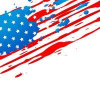 amerikanische flagge design vektor