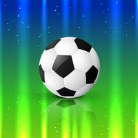 schönes Fußballdesign vektor
