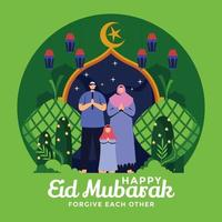 förlåta våra medmänniskor under eid mubarak
