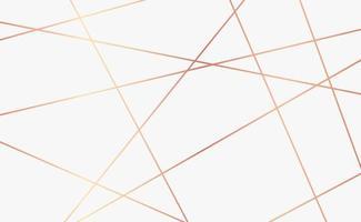 abstrakter weißer Hintergrund mit goldenen Linien - Vektor