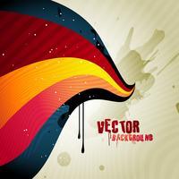 Retro-Welle vektor