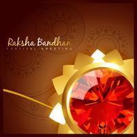 raksha bandhan festival vektor