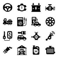 service för bilunderhåll vektor