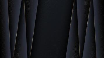 Luxus abstrakter Hintergrund mit Goldschnitt. vektor