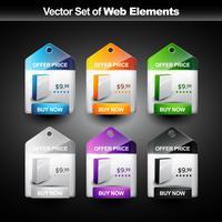 Warenpräsentation vektor