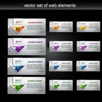 Webelement vektor