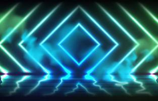 glühender Neon führte Hintergrund vektor