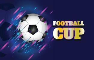 Fußballmeisterschaft Hintergrundvorlage vektor