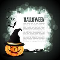 Halloween-Kürbis vektor