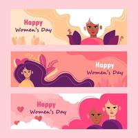 Happy Womens Day Banner