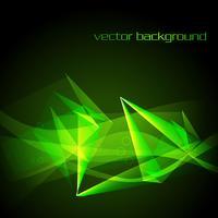 Vektorgrüne abstrakte Hintergrundillustration vektor