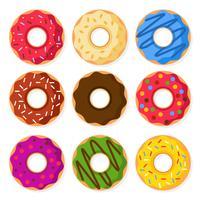 Donuts Vector Illustration