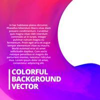bunter Hintergrund mit Platz für Ihren Text vektor
