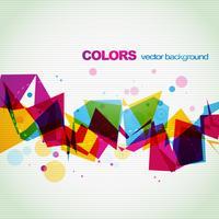 färgstark abstrakt eps10 vektor form design