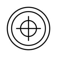 ikon för affärsmål vektor