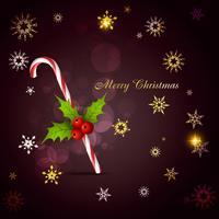 Weihnachtszuckerstange vektor
