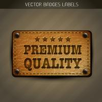 Vektor-Premium-Label vektor