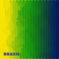 Brasilien Flagge Abbildung vektor