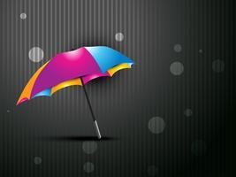 Regenschirm-Vektor-Design vektor