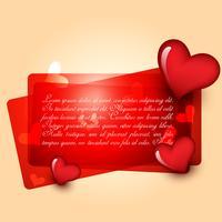 vacker hjärta design vektor