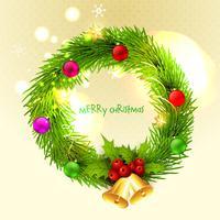 Vektor Frohe Weihnachten