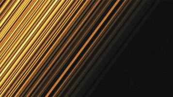 Geschwindigkeit goldenen Technologie Hintergrund vektor