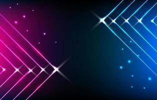 abstrakter Neonhintergrund vektor