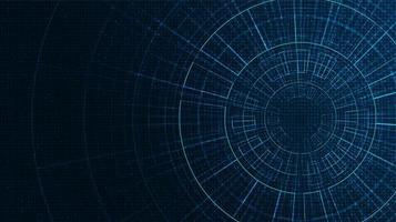 cyberteknisk bakgrund vektor