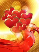 vektor hjärta bakgrund