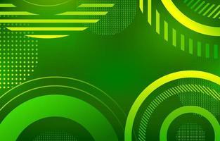grüner abstrakter Hintergrund vektor