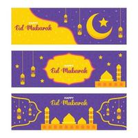Eid Mubarak Banner vektor