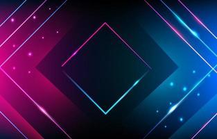 Neon abstrakter Hintergrund vektor