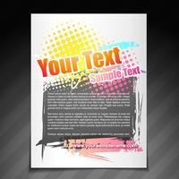 modern broschyrdesign vektor