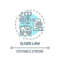Konzeptikone des älteren Gesetzes