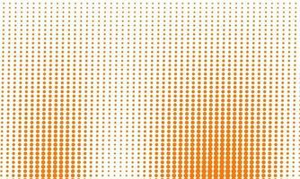 abstrakt orange halvtonmönster vektor