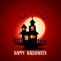 glad halloween design vektor