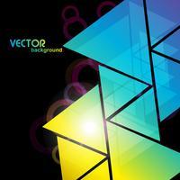 färgstark stilfull bakgrund vektor