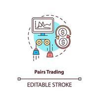 par handel koncept ikon