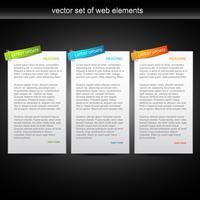 Vektor-Stil Banner vektor