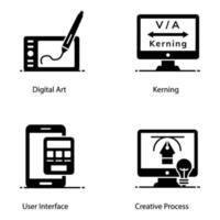 element för digital konst