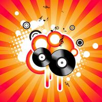 Vektor Musik Hintergrund