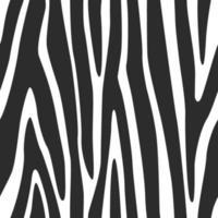 Zebra Linien nahtlose Musterstreifen Hintergrund Tierhautdruck vektor