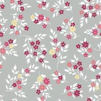 sömlös blommönster vektor
