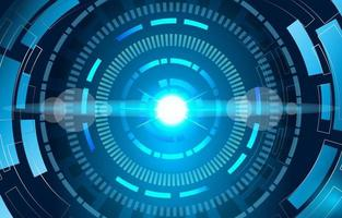 Hud Technologie Hintergrund vektor